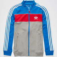 Adidas Adv Mens Track Jacket Blue Combo  In Sizes