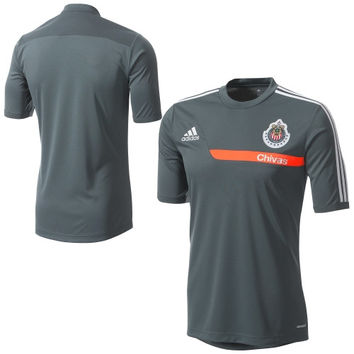 adidas Chivas 2013/14 Training Performance Jersey - Navy Blue - http://www.shareasale.com/m-pr.cfm?merchantID=7124&userID=1042934&productID=520934977 / Chivas