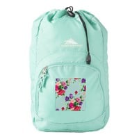 mint,shabby chic,girly,trendy,vintage,roses,floral backpack