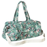 Mossimo Supply Co. Floral Weekender Duffle Handbag with Removable Shoulder Strap - Mint