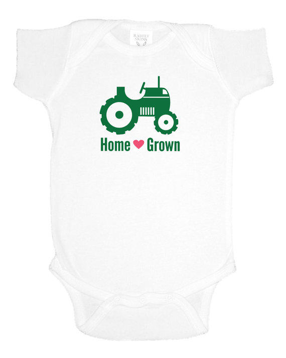 Home Grown Country Baby Shower Gift Mash Designs