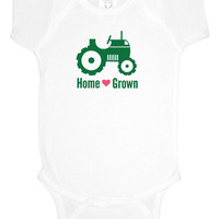 Home Grown country baby shower gift creeper bodysuit, southern baby, baby girl clothes, baby boy, gift under 20