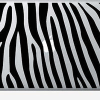 MACBOOK IPAD LAPTOP VINYL STICKER DECAL CUSTOM SIZE ZEBTA TIGER STRIPES T008
