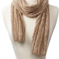 Amazon.com: Isotoner Women's Chenille Scarf, Camel, One Size: Clothing
