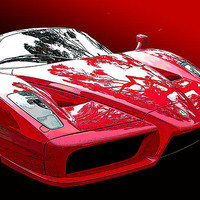 Ferrari Enzo Front Study Photograph by Samuel Sheats - Prints & greeting cards on Fine Art America.