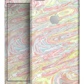 Slate Marble Surface V36 - Skin-kit for the iPhone 8 or 8 Plus