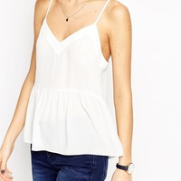 ASOS Soft Gathered Pretty Cami Top at asos.com