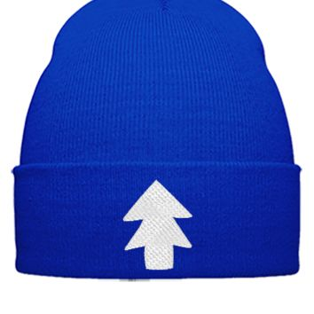 dipper pines white Bucket Hat, - Beanie Cuffed Knit Cap