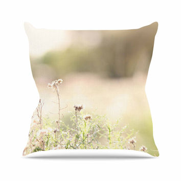 "Sylvia Coomes ""Shimmering Light"" Nature Photography Throw Pillow"