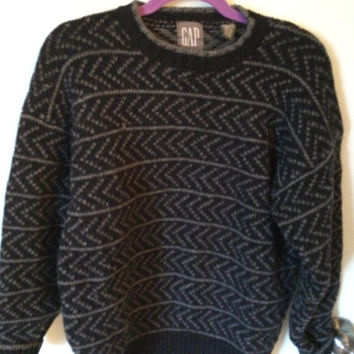 Vintage 80s wool sweater