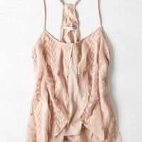 AEO Women's Embroidered Floaty Cami