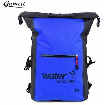 Gameit 25L Water Resistant Roll-top Dry Backpack