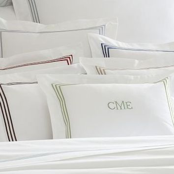 Grand Embroidered Boudoir Pillow Cover | Pottery Barn