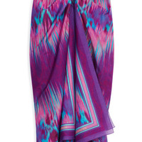 Snake Faze Sarong by Matthew Williamson Now Available on Moda Operandi