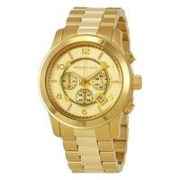 Michael Kors Gold-tone Unisex Watch MK8077
