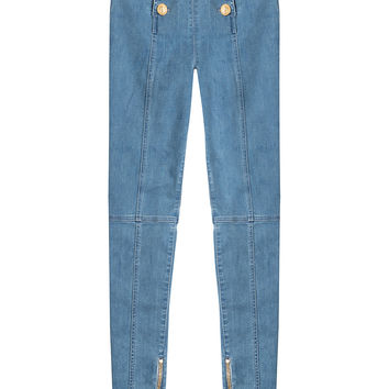 Balmain - High-Waisted Jeans