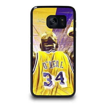SHAQUILLE O'NEAL LA LAKERS Samsung Galaxy S7 Edge Case Cover