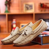 Mens Moccasins Loafers Casual