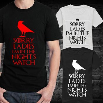 Game Of Thrones Night's Watch T Shirts