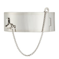 Eddie Borgo Safety Chain Cuff Bracelet
