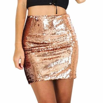 Mini Shiny Skirt