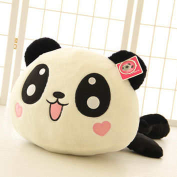35cm Panda doll pillow panda plush toy peluche panda toy hug bear stuffed animal doll valentine girl