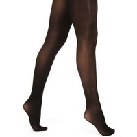 Black Opaque Essential Tights