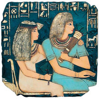 Egyptian King Ramses Plaque