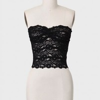 Belle Joli Lace Bandeau In Black