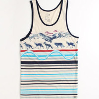 On The Byas Wolfy Tank at PacSun.com