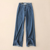 Jeans Summer High Waist Loudspeaker [10203233287]