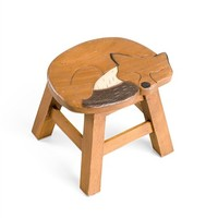 Sale! Hand Carved Wooden Stools