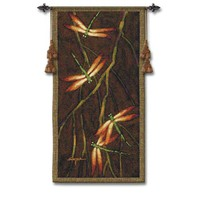 Pure Country Weavers 3575-WH October Song II Woven Wall Tapestry