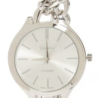 Chains of Pace Silver Chain Watch