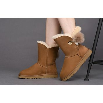 Best Sale Online UGG CHESTNUT Limited Edition Classics Boots IRINA Women Shoes 1017502