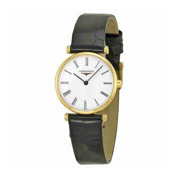 Longines La Grande Classique Yellow Gold PVD Ladies Watch L4.209.2.11.2