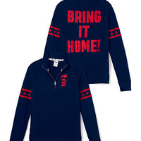 Boston Red Sox Half-Zip Pullover - PINK - Victoria's Secret