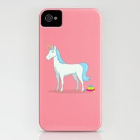 Unicorn Poop iPhone & iPod Case by See Mike Draw