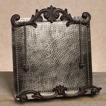 Gg Collection Cookbook Holder, Antique Silver