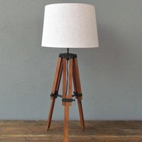artist easel table lamp