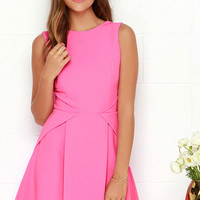 Party Favor Pink Dress