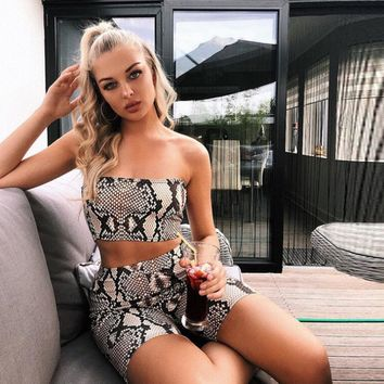 Women Summer Casual Shinny Tube Top Shorts Bodycon Two Piece Set Outfits Short Sport Jumpsuit Sets #75