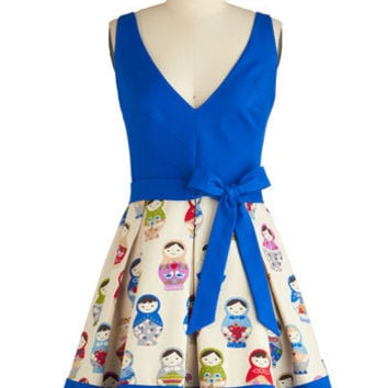 Eva Franco Doll in All Dress | Mod Retro Vintage Dresses | ModCloth.com