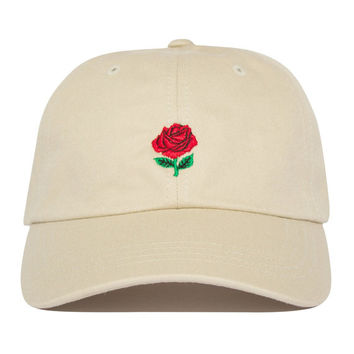Rose Hat - Tan