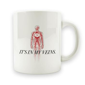 DCCK Drums Are In My Veins - 15oz Mug