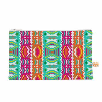 "Miranda Mol ""Ethnic Summer"" Green Orange Everything Bag"