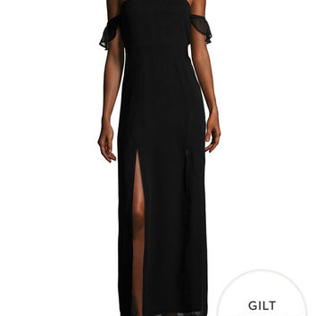 Off Shoulder Maxi Dress by Lucca Couture at Gilt