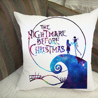 nightmare before christmas galaxy pillow case best quality pilllow