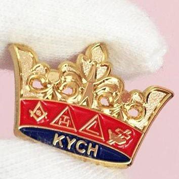 Masonic KYCH Knight Commander Court of Honor Lapel Pin