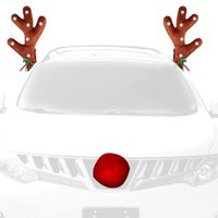 "WOW Antlers 14"" LED Lighted Vehicle Reindeer Antlers"
